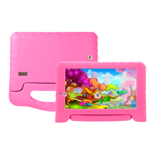 "Tablet Multilaser Kid Pad NB279 Rosa - 8GB 7"" Wi-Fi - Android 7.0"