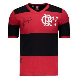 Camisa Flamengo Retrô 1981 Andrade - Braziline