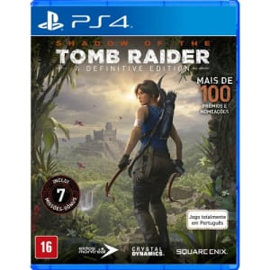 Jogo Shadow Of Tomb Raider: Definitive Edition - PS4