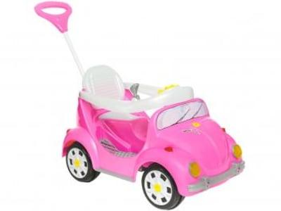 Carrinho de Passeio Infantil a Pedal 1300 Fouks - com Empurrador Emite Sons Calesita - Magazine Ofertaesperta