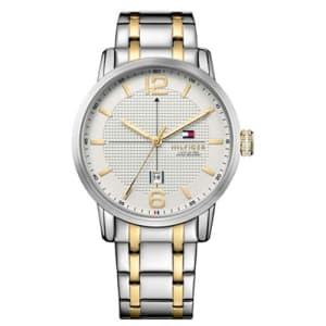 Relógio Tommy Hilfiger Masculino Aço Prateado e Dourado - 1791214