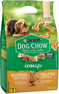 NESTLÉ PURINA DOG CHOW Biscoitos para Cães Adultos Raças Pequenas Frango 1kg