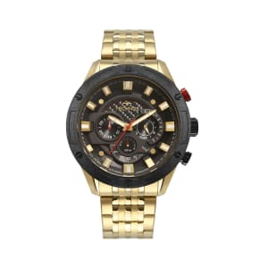 Relógio Technos Carbon Masculino Dourado Analógico JS25CE/4P