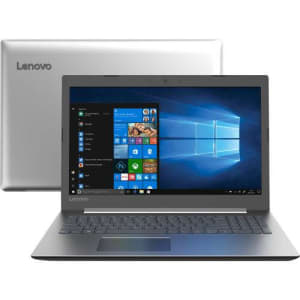 """Notebook Lenovo Ideapad 330 7ª Intel Core i3 Tela 15.6"""" 4GB 1TB W10 HD - Prata"""