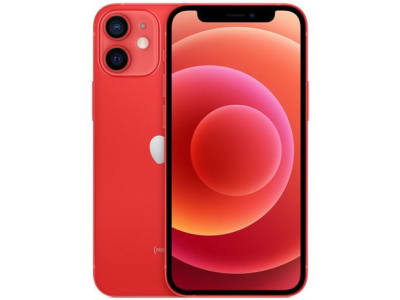 "iPhone 12 Mini Apple 64GB (PRODUCT)RED 5,4"" - Câm. Dupla 12MP iOS - Magazine Ofertaesperta"
