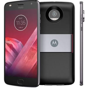 "Smartphone Motorola Moto Z2 Play - Power Pack & DTV Edition Dual Chip Android 7.1.1 Nougat Tela 5.5"" Octa-Core 2.2 GHz 64GB 4G Câmera 12MP - Platinum"