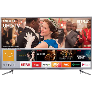 "Smart TV LED 49"" Samsung 49MU6120 Ultra HD 4k com Conversor Digital 3 HDMI 2 USB Wi-Fi HDR Premium Smart Tizen"