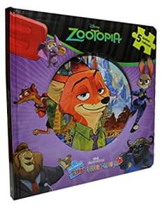 Zootopia: Meu Primeiro Livro Quebra-cabeças (Português) Capa Comum – 21 Março 2016