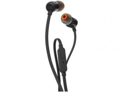 Oferta ➤ Fone de Ouvido Intra Auricular JBL – com Cabo P2 T110 (2 cores disponíveis)   . Veja essa promoção