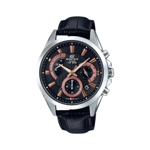 Relógio de Pulso Casio Edifice Masculino Preto Analógico EFV-580L-1AVUDF