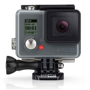 Câmera Digital e Filmadora GoPro Hero Plus CHDHC-101-LA Chumbo - 8MP, Wi-Fi, Bluetooth e Vídeo Full HD