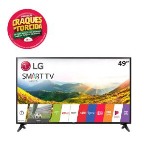 "Smart TV LED 49"" LG 49LJ5500 Full HD 2 HDMI 1 USB Preto"
