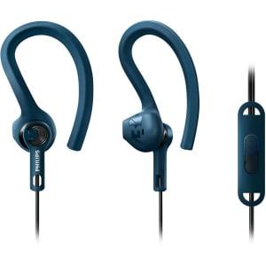 Fone de ouvido Philips Esportivo SHQ1405BL Azul