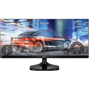 """Monitor LED 25"""" Gamer LG IPS Ultrawide Full HD 25UM58"""