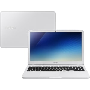 Notebook Essentials E30 Intel Core I3 4GB 1TB LED Full HD 15.6'' W10 Branco Ônix - Samsung