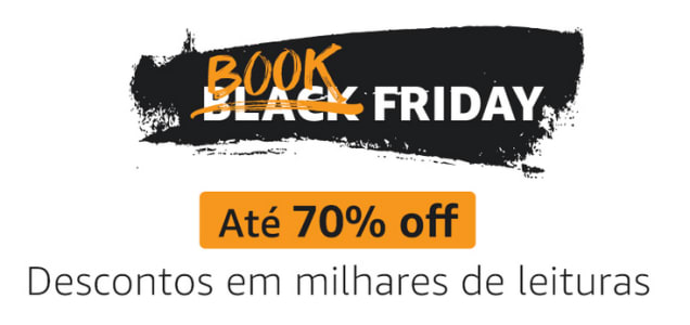 Book Friday Amazon 2021 - Até 70% de Desconto em Livros e eBooks