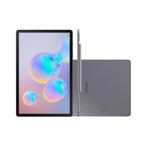 Tablet Samsung Galaxy Tab S6 Wi-Fi 4G 128GB Android 3.4 Octa-Core Tela 10.5 Câmera 13MP Frontal 8MP Grafite