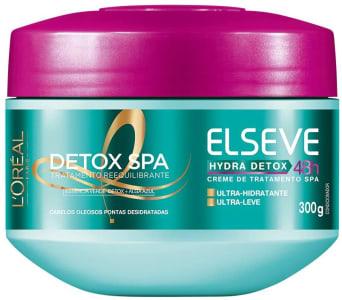 Creme de Tratamento Hydra-Detox Elseve L'Oréal Paris 300 gr L'Oréal Paris Branco