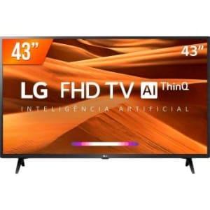 Smart TV LED PRO 43'' Full HD LG 43LM 631 3 HDMI 2 USB Wi-fi Conversor Digital - Magazine Ofertaesperta