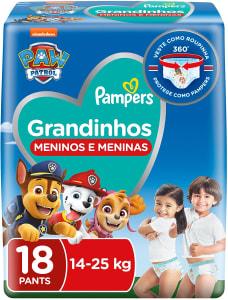Fralda Grandinhos 14-25Kg 18 Unidades - Pampers