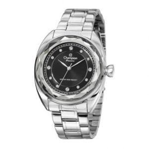 Relógio Feminino Analógico Champion Analógico Pulseira de Aço Caixa de 36 MM 50 M Resistente a Agua 50 M -CN27189T