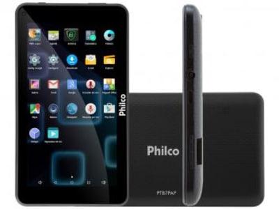 "Tablet Philco PTB7PA 8GB 7"" Wi-Fi Android 7.1 - Proc. Quad Core Câmera Integrada - Magazine Ofertaesperta"