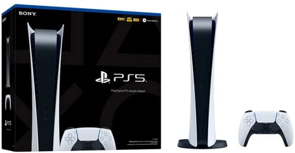 Console PlayStation 5 Digital Edition