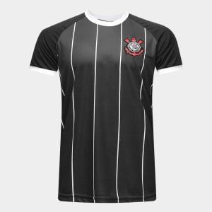 Camisa Corinthians Fenomenal Edição Limitada Torcedor Masculina - Preto e Branco
