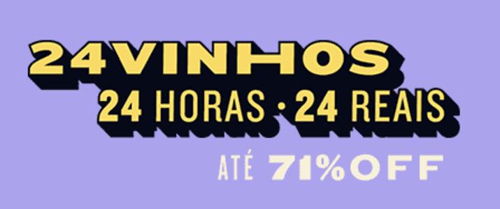 SÓ HOJE! Seleção com 24 vinhos importados por 24 reais cada - Evino