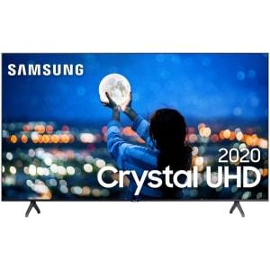 Smart TV 43'' Samsung Crystal UHD 43TU7000 4K 2020 Wi-fi Borda Infinita Controle Remoto Único Bluetooth e Processador Crystal 4K