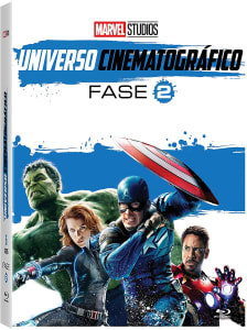 Blu-Ray Marvel Studios Universo Cinematográfico Fase 2