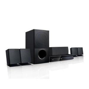 Home Theater LG LHD625 5.1 Canais com Bluetooth, Rádio FM, HDMI, Entrada USB, Full HD Up-Scaling e Lê DVD - 1000W