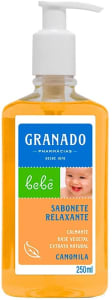 Sabonete Liquido Bebe Camomila Granado - 250ml