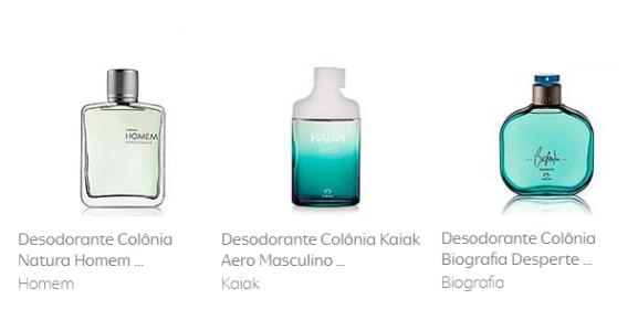 Desodorante Colônia Natura Homem - 100ml Homem + Desodorante Colônia Biografia 100ml Masculino + Desodorante Colônia Natura Homem Madeiras 100ml Homem