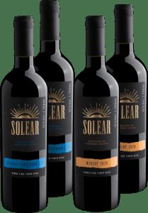 Kit Solear Merlot e Cabernet Sauvignon