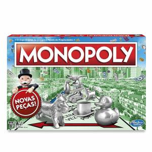 Jogo de Tabuleiro Hasbro Gaming Monopoly - C1009
