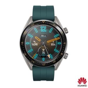 Smartwatch GT Huawei Verde com 1,39'', Pulseira de Silicone, Bluetooth e 128MB