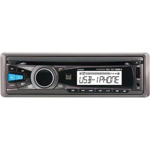 CD Player Dual XDMA 450 com interface Ipod/Iphone, controle remoto, USB e AUX