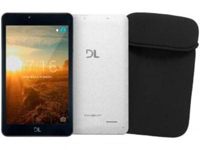 "Tablet DL Invent Now 8GB Tela 7"" Wi-Fi Android - Proc. Quad Core Câmera Integrada - Magazine Ofertaesperta"
