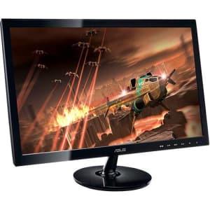 "Monitor LED 24"" Gamer Asus VS248H-P Full HD 2ms Widescreen - Preto"
