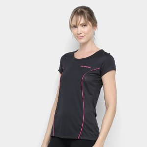 Camiseta Olympikus NS Feminina - Preto
