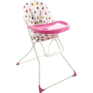 Cadeira de Alimentação Banquet Rosa Cupcake - Cosco