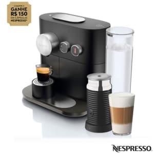 Cafeteira Nespresso Expert Preto para Café Espresso com Aero3 - C80-BR - NLA3NC80BRPTO_PRD