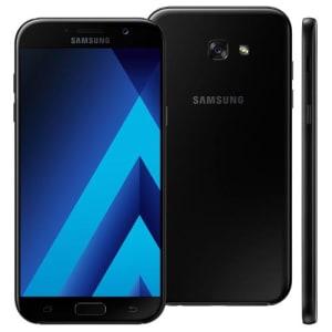 Oferta ➤ Smartphone Samsung Galaxy A7 2017 A720F/DS Preto com 64GB, Dual Chip, Tela 5.7, 4G, NFC, Câmera 16MP, Android 6.0, Processador Octa-Core e 3GB RAM   . Veja essa promoção