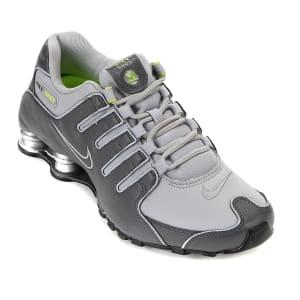 Tênis Nike Shox Nz Masculino - Cinza e Verde