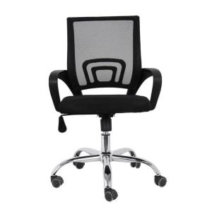 Cadeira de Escritório Com Base Cromada - BY017