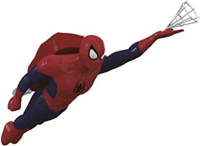 Boneco de Teto do Spider Man Candide Azul/Vermelho