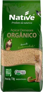 Açúcar Demerara Orgânico Native 1kg