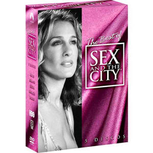 Coleção DVD The Best of Sex and the City (5 DVDs)