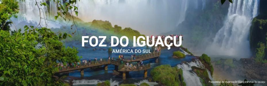 Pacote Foz do Iguaçu: Passagem + Hotel - Saindo de São Paulo - Ida e Volta